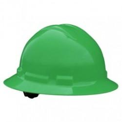 Radians - RADQHR4-G - Radians Quartz Full Brim Hard Hats, 4 Point Ratchet Suspension System, Green