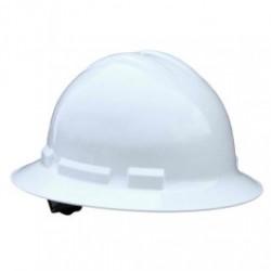 Radians - RADQHR4-W - Radians Quartz Full Brim Hard Hats, 4 Point Ratchet Suspension System, White
