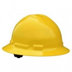 Radians - RADQHR4-Y - Radians Quartz Full Brim Hard Hats, 4 Point Ratchet Suspension System, Yellow