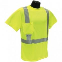 Radians - ST11-2PGS - ST11 Class 2 Hi-Viz Green Safety T-Shirt with Max-Dri