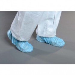 Alpha ProTech - SH7122 - Critical Cover GenPro Shoe Covers, Anti-Skid Sole, Adhesive on Sole, Blue, X-Large and Universal