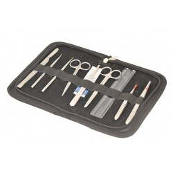 Eisco Scientific - BI0151 - Dissecting Set - Senior, 9 instruments