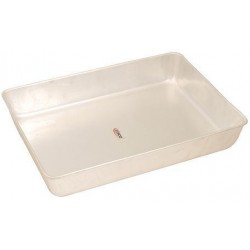 Eisco Scientific - BI0186P - Dissecting Tray 27x18x4cm., Aluminum, without wax