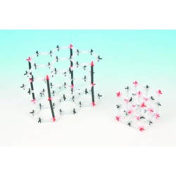 Eisco Scientific - CH0602B - Crystal Model Set Graphite-Economy