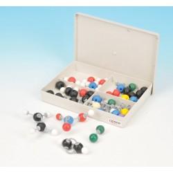 Eisco Scientific - CH0609 - Eisco Labs Basic Inorganic and Organic Chemistry Molecular Model Set, 64 Pieces