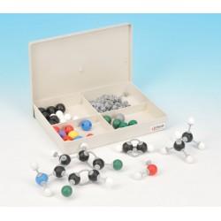 Eisco Scientific - CH0611 - Eisco Labs Student Inorganic and Organic Chemistry Molecular Model Set, 65 Pieces