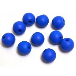 Eisco Scientific - CHMOLBLU2PK10 - Eisco Labs Molecular Model Part; Blue Ball; 2.2cm; 2 Holes; Pk of 10
