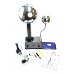 Eisco Scientific - EDUVDG - Eisco Labs 400, 000 Volt Van De Graaff Kit with 10 Electrostatic Attachments