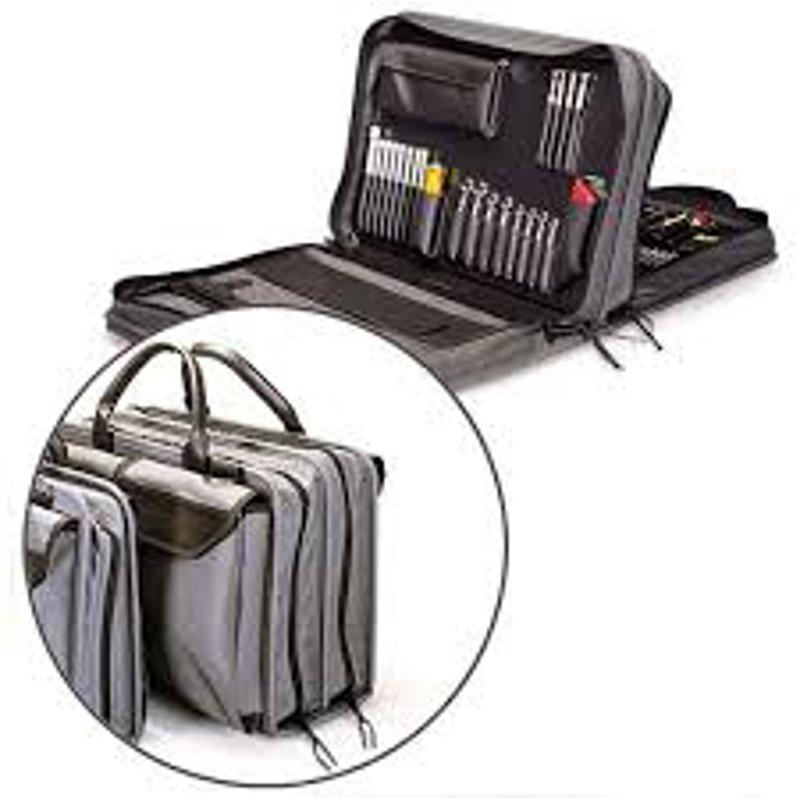Jensen Tools - JTK-7500DBL - Inch/MM Medical Equipment Kit in Double Gray Ballistic Nylon Case
