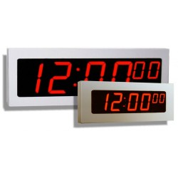 National Time And Signal - DLU400-6 - Digital 2 Wire 4 Numbers Includes Hours Minutes and Seconds 24VAC, Executive Series On Demand Instant reset