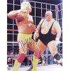 Superstar Greetings - HH-8B - Hulk Hogan Signed 8x10 Photo - Vs King Kong Bundy