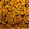 Meyda - 122264 - Metro Fusion Amber/Black Mosaic Swatch