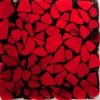 Meyda - 122265 - Metro Fusion Red/Black Mosaic Swatch