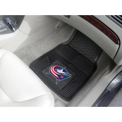 Fanmats - 10574 - Columbus Blue Jackets 2-pc Vinyl Car Mat Set