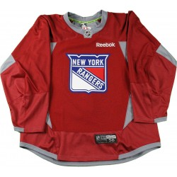 Steiner Sports - 1516NYRJRD00000 - New York Rangers 2015-2016 Season Red Practice Jersey Size 56