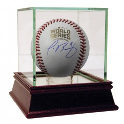 Steiner Sports - BAEZBAS000000 - Javier Baez Signed 2016 World Series Baseball Fanatics Auth