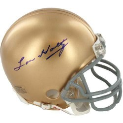 Steiner Sports - HOLTMIS000000 - Lou Holtz Signed Notre Dame Replica Mini Helmet