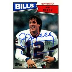 Steiner Sports - KELLCDS000000 - Jim Kelly Signed 1987 Topps Rookie Card
