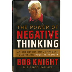 Steiner Sports - KNIGBOS000000 - Bob Knight Signed The Power of Negative Thinking Book