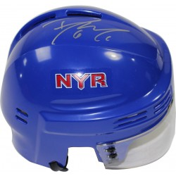 Steiner Sports - MCILMIS000000 - Dylan McIlrath Signed New York Rangers Blue Mini Helmet