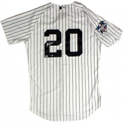 Steiner Sports - POSAJES002000 - Jorge Posada Signed New York Yankees Authentic Pinstripe Jersey w/ 2000 Patch MLB Auth