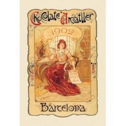 Buyenlarge - 01586-1P2030 - Chocolate Amatller: Barcelona, 1902 20x30 poster