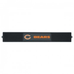 Fanmats - 13981 - Chicago Bears Drink Mat 3.25x24