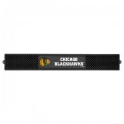 Fanmats - 14061 - Chicago Blackhawks Drink Mat 3.25x24