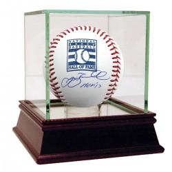 Steiner Sports - BAGWBAS000002 - Jeff Bagwell Signed Hall of Fame Logo Baseball w/ HOF 17 Insc Tristar/SMM Auth