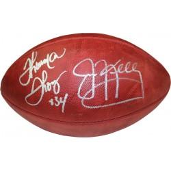 Steiner Sports - BILLFOS000002 - Jim Kelly Thurman Thomas Dual Signed Duke NFL Football