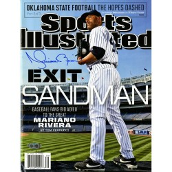 Steiner Sports - RIVEMAS000002 - Mariano Rivera Signed Sports Illustrated Magazine Exit Sandman 9/23/2013 No Label