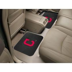 Fanmats - 12330 - Cleveland Indians Backseat Utility Mats 2 Pack 14x17