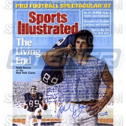 Steiner Sports - BAVAPHS016003 - Mark Bavaro Signed Sports Illustrated 16x20 Story Photo