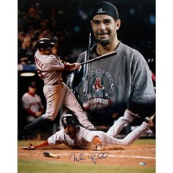 Steiner Sports - LOWEPHS016003 - Mike Lowell 2007 World Series MVP 16x20 Collage