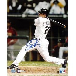 Steiner Sports - PODSPHS008003 - Scott Podsednik 2005 WS Gm 2 GW HR 8x10 Photograph Side View