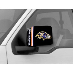 Fanmats - 11977 - Baltimore Ravens Large Mirror Cover