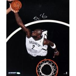 Steiner Sports - GARNPHS016003 - Kevin Garnett Brooklyn Nets Dunk Signed Vertical 16x20 Photo