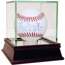 Steiner Sports - BARKBAS000004 - Len Barker Signed Baseball w/ PG 5-15-81 Insc