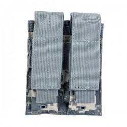 NcSTAR - CVP2P2931D - NcStar CVP2P2931D 5-1/2-Inch VISM Double Pistol Magazine Pouch, Digital Camo