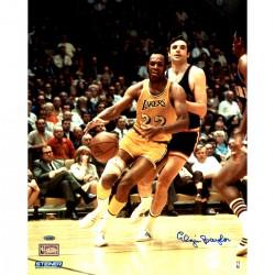 Steiner Sports - BAYLPHS008002 - Elgin Baylor Signed vs. Knicks 8x10 Photo