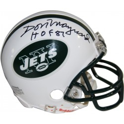 Steiner Sports - MAYNMIS000005 - Don Maynard Signed New York Jets Mini Helmet w/ HOF Insc