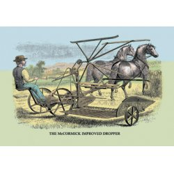 Buyenlarge - 07579-1CG28 - The McCormick Improved Dropper 28x42 Giclee on Canvas