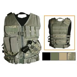 NcSTAR - CTV2916D - NcStar CTV2916D VISM Fully-Adjustable Tactical Vest, Med-2XL - Digital Camo