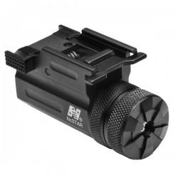 NcSTAR - AQPTLMG - NcStar AQPTLMG Quick-Release Ultra Compact Green Pistol Laser, Black