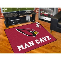 Fanmats - 14260 - NFL - Arizona Cardinals Man Cave All-Star Mat 33.75x42.5