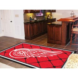 Fanmats - 10384 - Detroit Red Wings Rug 5x8