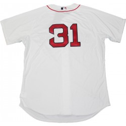 Steiner Sports - LESTJEU000006 - Jon Lester Boston Red Sox Authentic Cool Base nbr31 White Jersey Sz 48