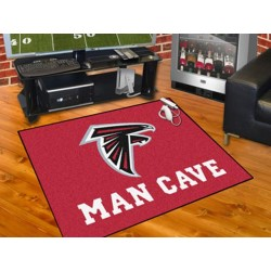 Fanmats - 14264 - NFL - Atlanta Falcons Man Cave All-Star Mat 33.75x42.5
