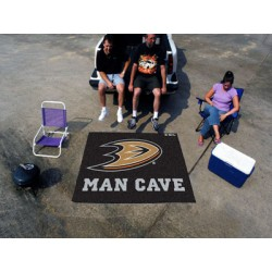 Fanmats - 14391 - NHL - Anaheim Ducks Man Cave UltiMat Rug 5x8