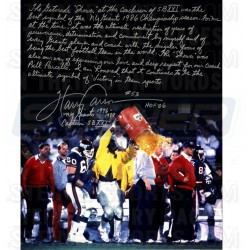 Steiner Sports - CARSPHS016007 - Harry Carson Gatorade Signed 16x20 Story Photo